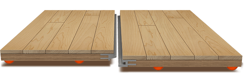 Modular portable flooring  «SPEED-FLOORPRO»